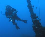 Padi nitrox enriched air diver